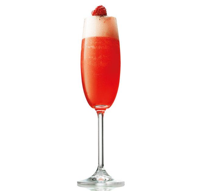 Kulinarium-Austria: Raspberry Rose Royale – die Lady in Red im Glas