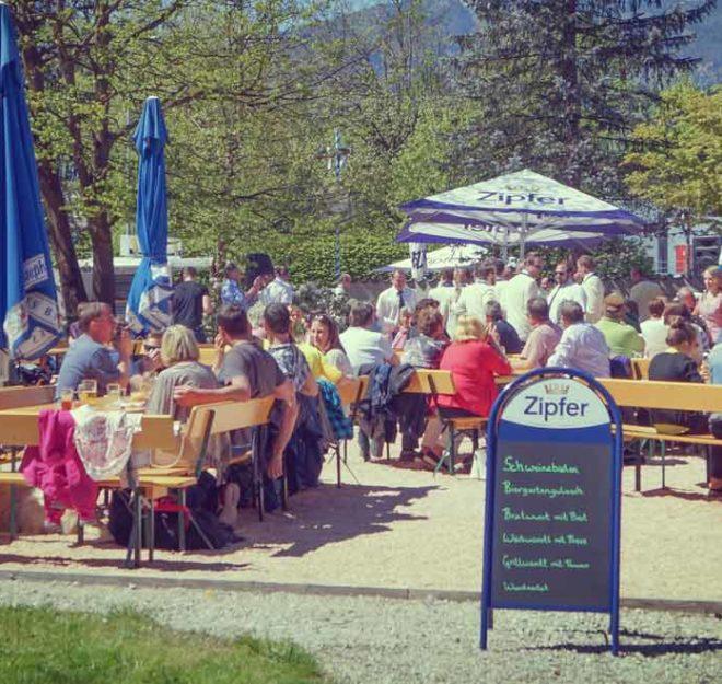 kulinarium-austria: biergarten woergl