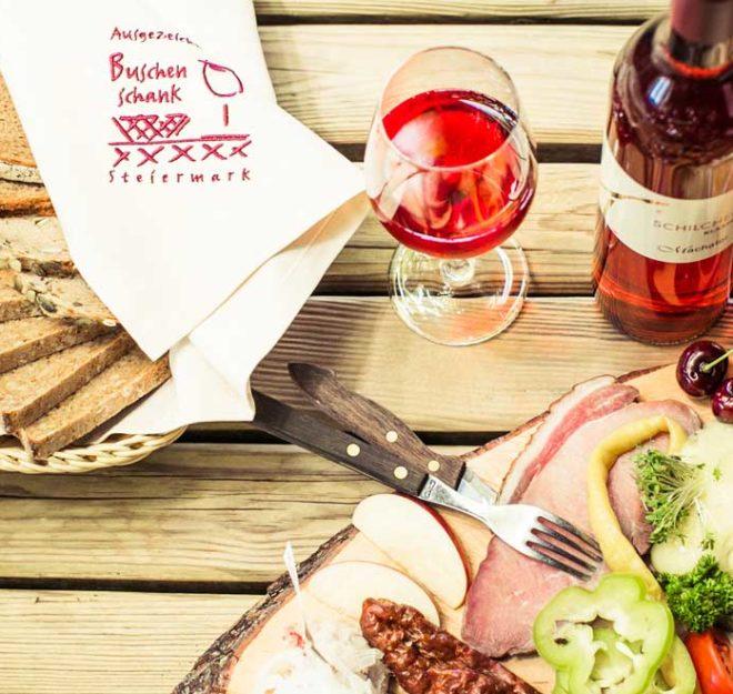 kulinarium-austria: buschenschank machater