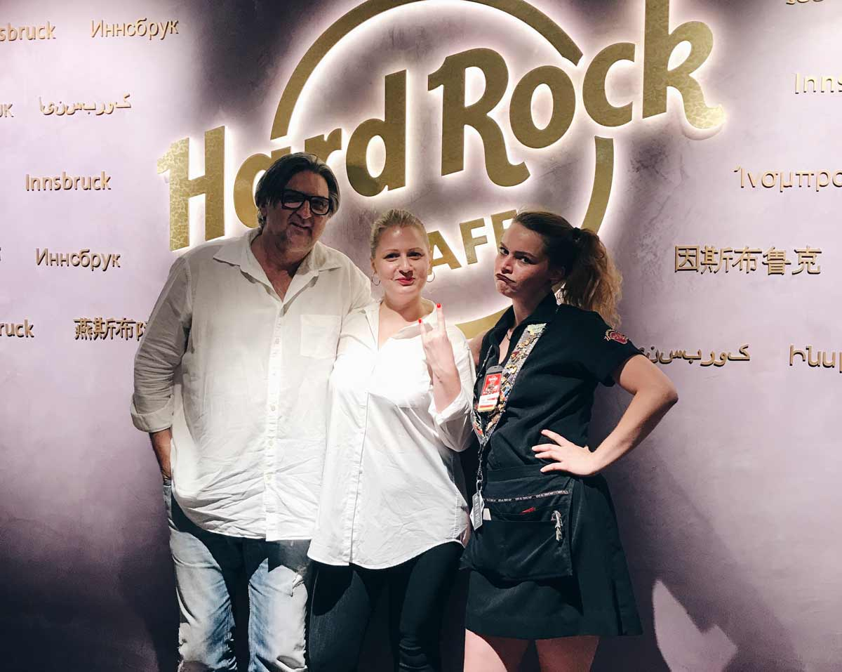 kulinarium-austria: hard rock cafe innsbruck, family