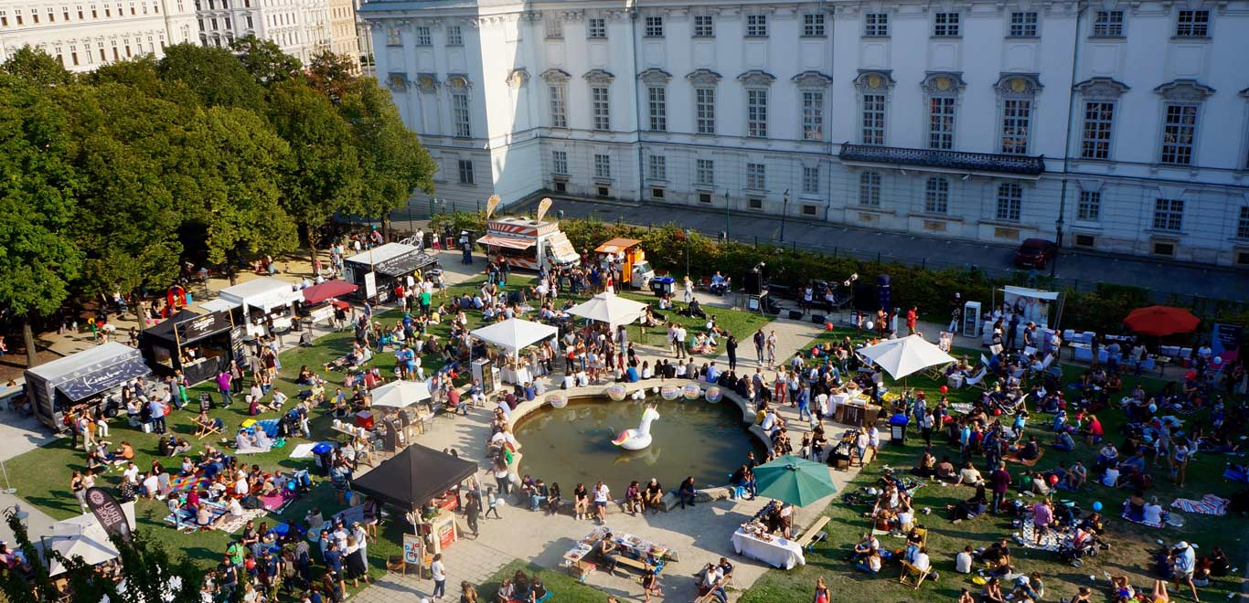 kulinarium-austria: 25hours hotel, in the park, Museumsquartier