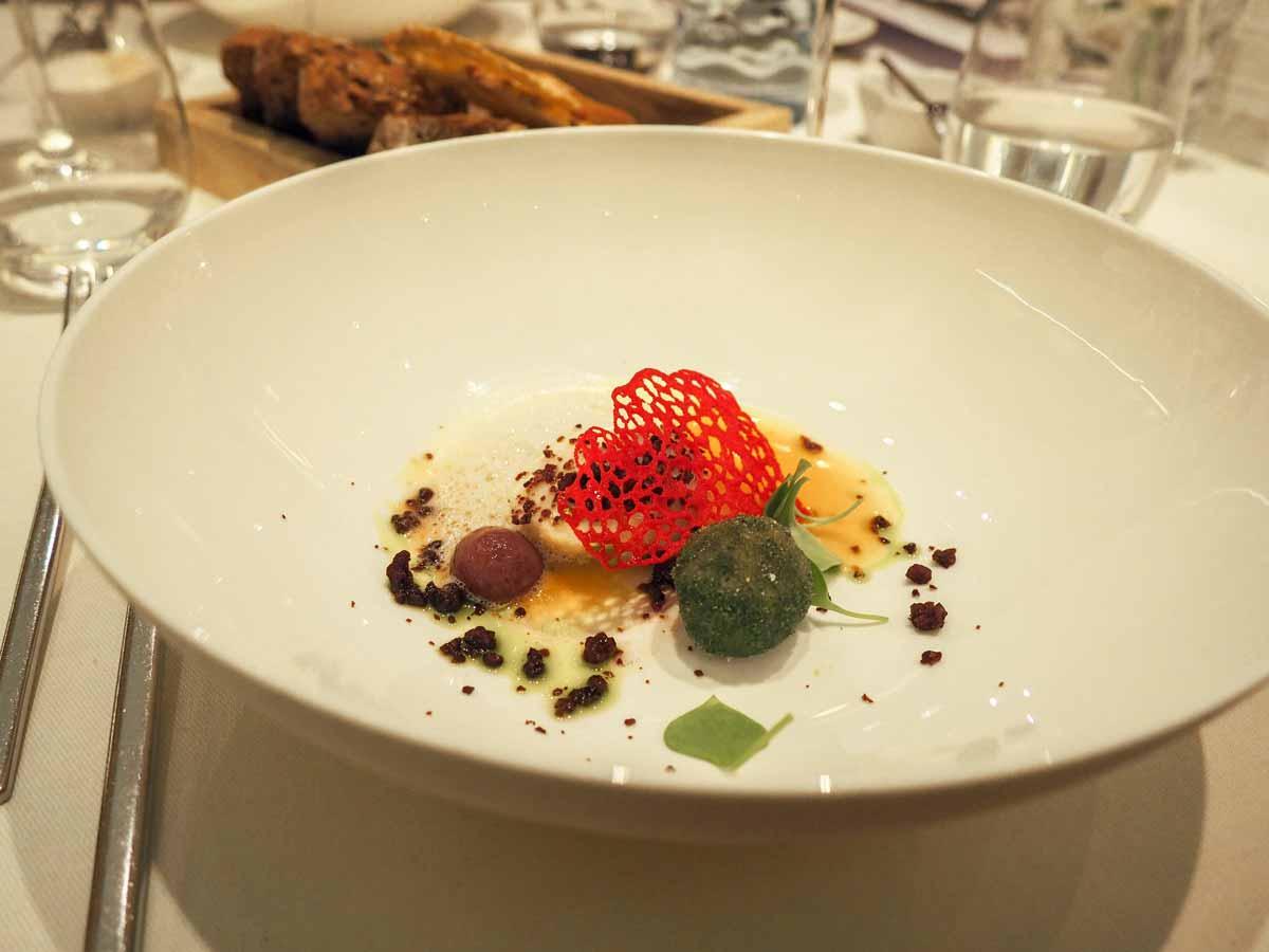 kulinarium austria, haubenrestaurant das schickt, degustationsmenue