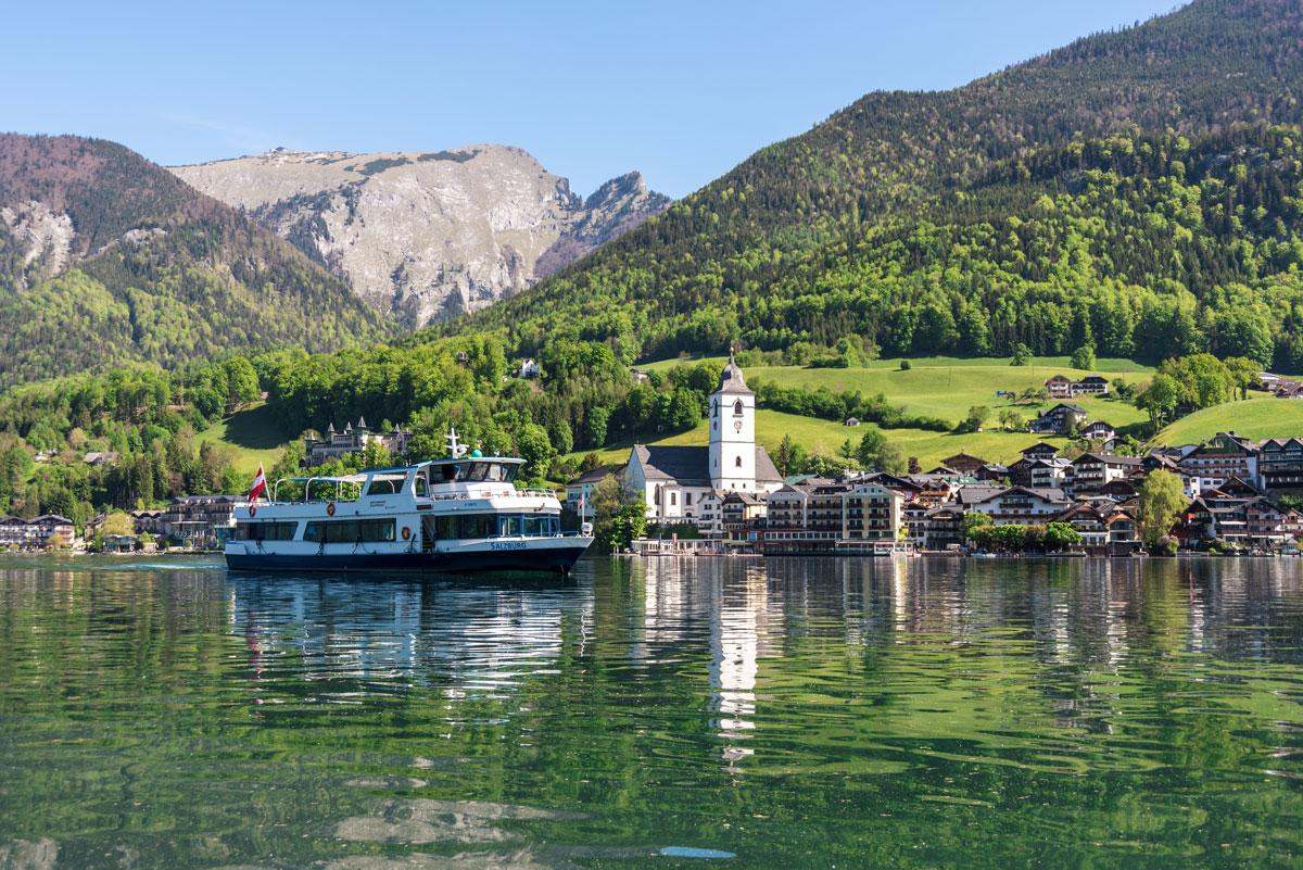 kulinarium austria, wolfgangsee, sommergenuss