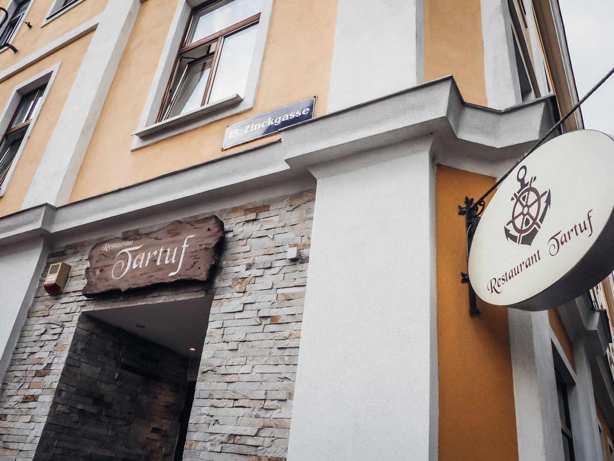 yellofromtheegg, sommerplaetze, restaurant tartuf wien