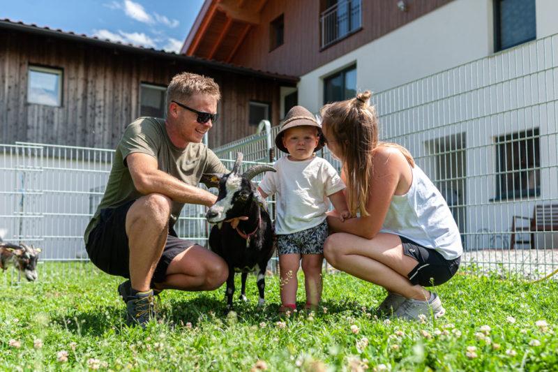 Die Bauernfamilie vom Ruetzhof in Kematen